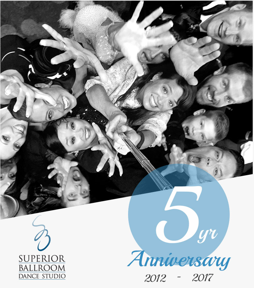 Superior Ballroom Dance Studio's 5th year anniversary!
