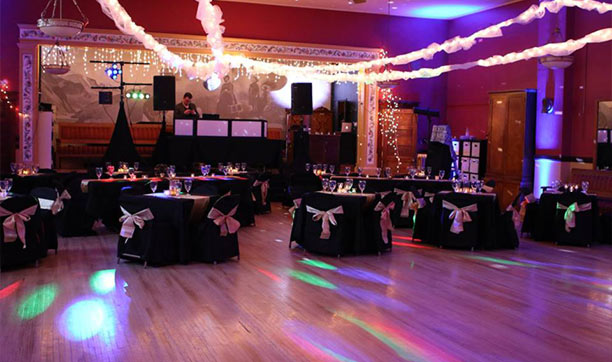 Superior Ballroom - Decorated Ballroom