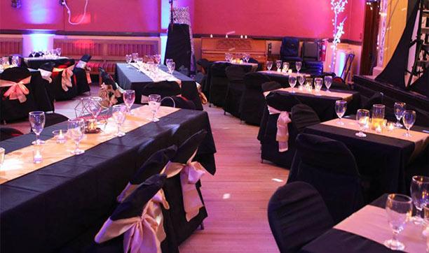 Superior Ballroom - Decorated Tables in Ballroom