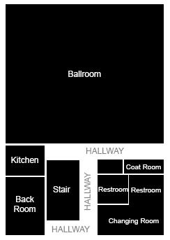 Superior Ballroom Dance Floorplan
